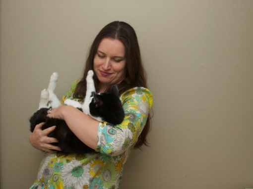 Sarah & Kiko Cat